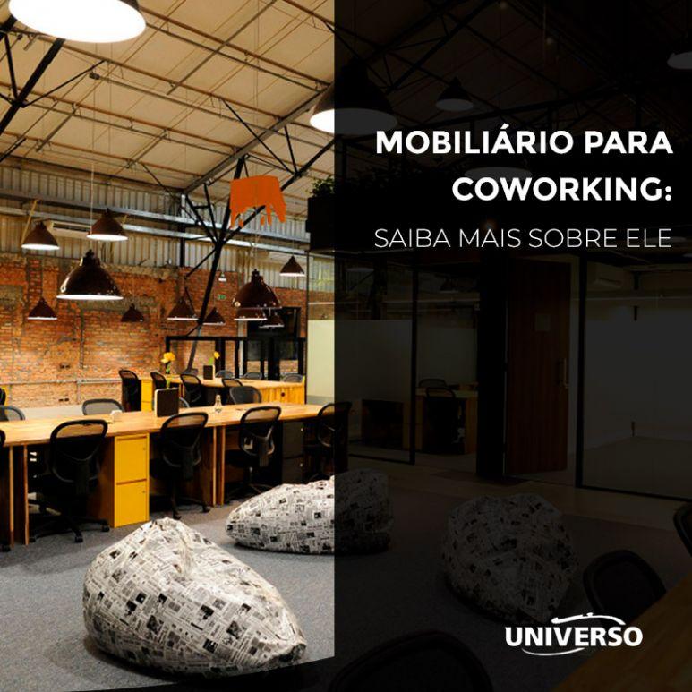 Mobiliário para Coworking: Saiba mais sobre ele