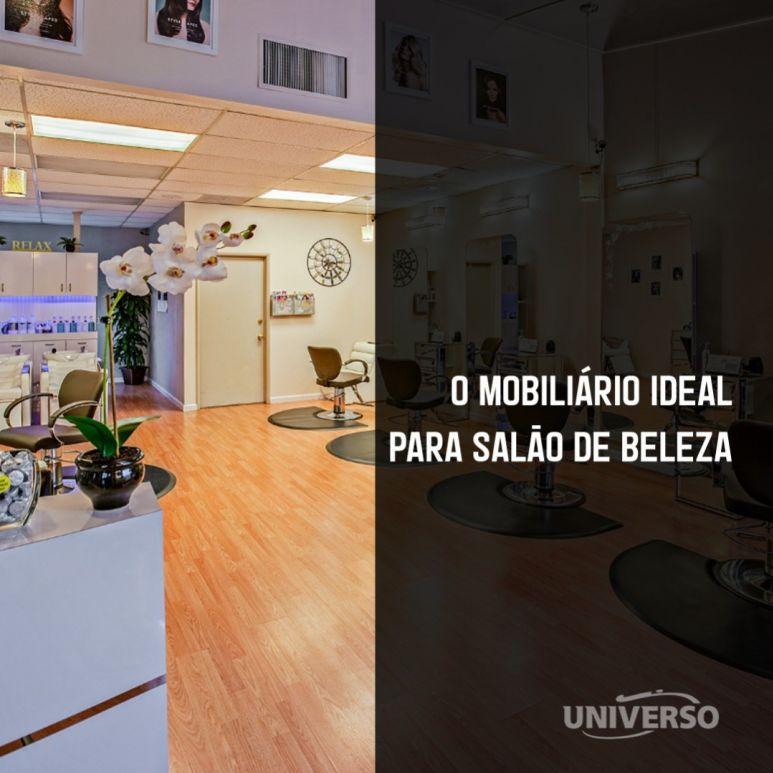 O mobiliário ideal para salão de beleza