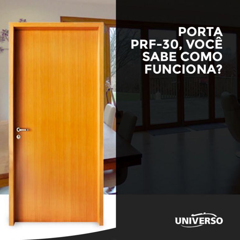 Porta PRF-30, você sabe como funciona?
