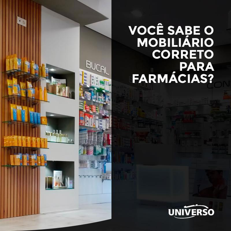 Você sabe o mobiliário correto para farmácias?